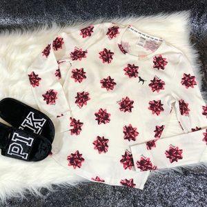 VS PINK bow sleep shirt